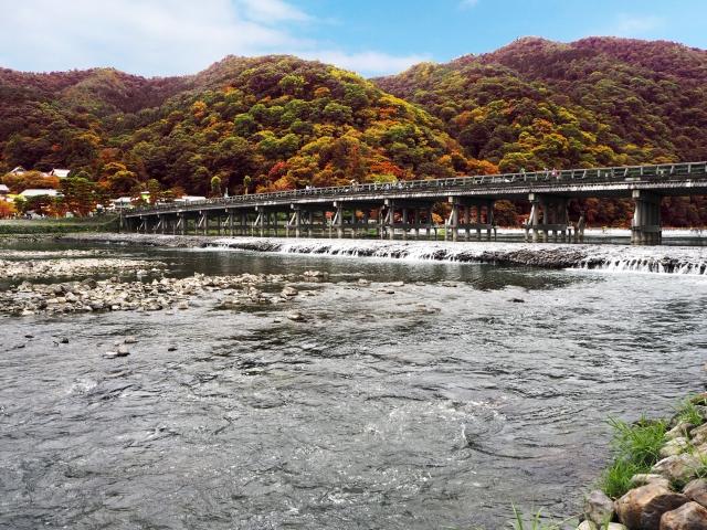 関西で旅行したい場所ランキング2位「嵐山」